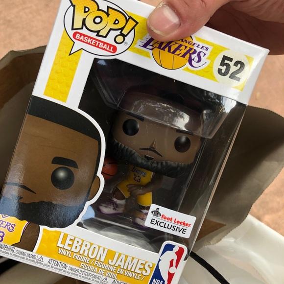 LeBron James Lakers Yellow Foot Locker Excl. Funko 9bf591619